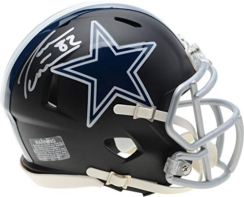 Jason Witten Dallas Cowboys Autographed Riddell Black Matte Alternate Speed Mini Helmet - Fanatics Authentic Certified