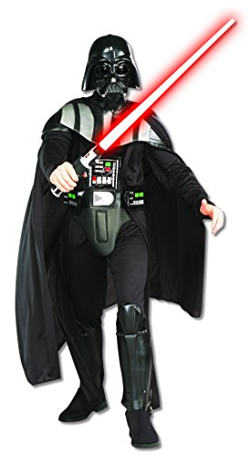 Rubie's Star Wars Darth Vader Deluxe Adult, Black, Standard Costume -