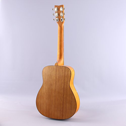 Yamaha JR1 FG Junior 3/4 Size Acoustic Guitar with Gig Bag and Legacy Accessory Bundle - Image 2