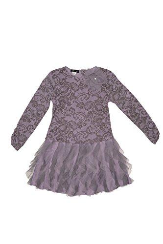 Kate Mack Girl's 7-16 Lace Confections Dress - Size 10, L...