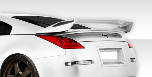 - Duraflex Replacement for 2003-2008 Nissan 350Z Z33 2DR Coupe N-2 Rear Wing Trunk Lid Spoiler - 1 Piece