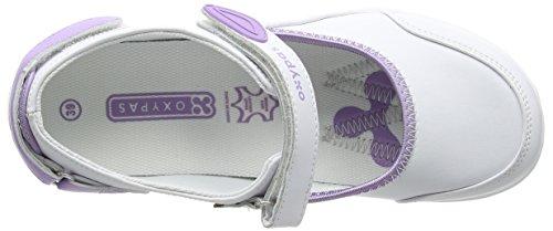 OxypasNelie - zapatos de seguridad mujer blanco - White (Lic)