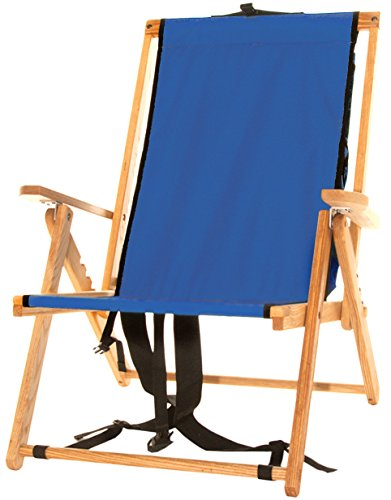 Back Pack Folding Chair in Atlantic Blue