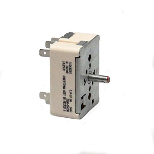 t Switch for Frigidaire Oven Range 316021501 1155395 AH1145040 ()