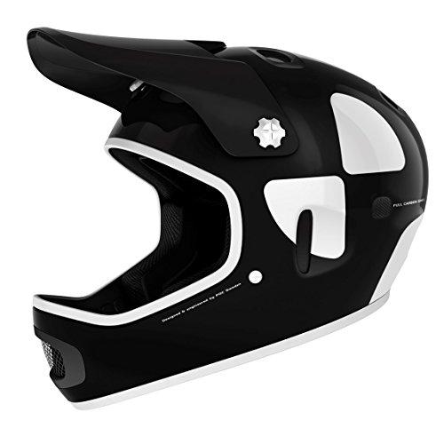 POC Cortex DH MIPS Bike Helmet, Uranium Black, Large/X-Large