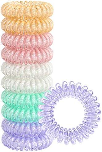 10//20x Thick Snag Free Endless Hair Ponios Pony Tail Elastics Bands Bobbles Girl