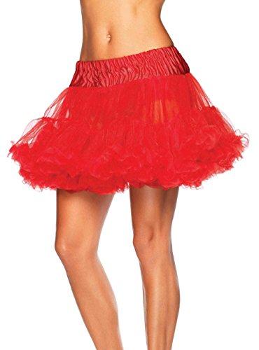 Red Adult Petticoat - 1