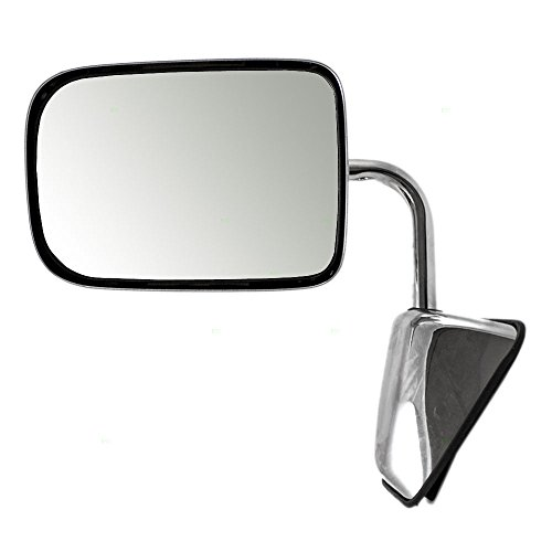 - Drivers Manual Side View Chrome Mirror Replacement for Dodge Pickup Truck SUV 55074999