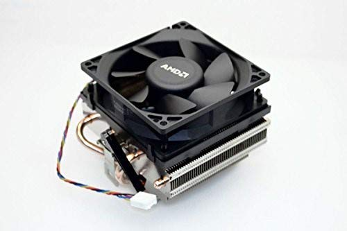 AMD SILENT COOLER without LED light Socket FM2/FM1/AM3/AM2+/AM2/1207/939/940/754 Copper Base/Alum Heat Sink & 3.5