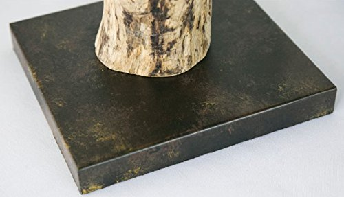 Village Simple Decoration Wooden Bedroom Study Wood Rattan Table Desk Bedside Lamp Light 300X530Mm,B by GAW Lighting Co.Ltd (Image #6)