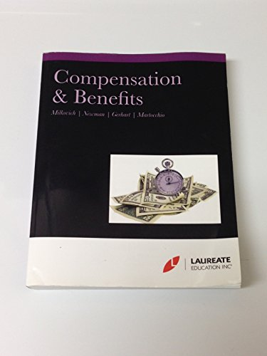 Compensation & Benefits (Select Material from