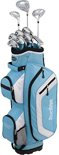 Tour Edge Bazooka 260 Women's Box Set, Right Hand, Blue/White ()