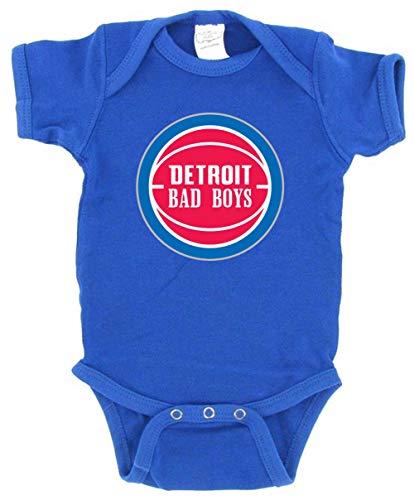 Blue Detroit Thomas Laimbeer Bad Boys Baby 1 Piece