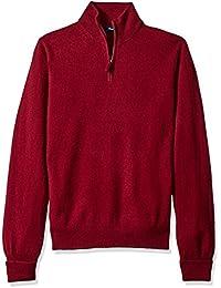 Men's Half Zip Cashmere Sweater