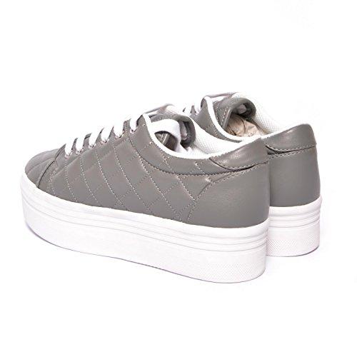 Marrone JEFFREY ZOMG Sneaker CAMPBELL Trapuntato Grigio gg7CxzZq