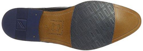 Daniel Hechter 812175071000, Zapatos de Cordones Derby para Hombre Schwarz (Schwarz)