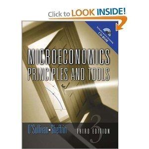 Economics Principles and Tools 3rd Edition