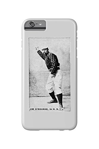 New York Giants - Jim O'Rourke - Baseball Card (iPhone 6 Plus Cell Phone Case, Slim Barely There)