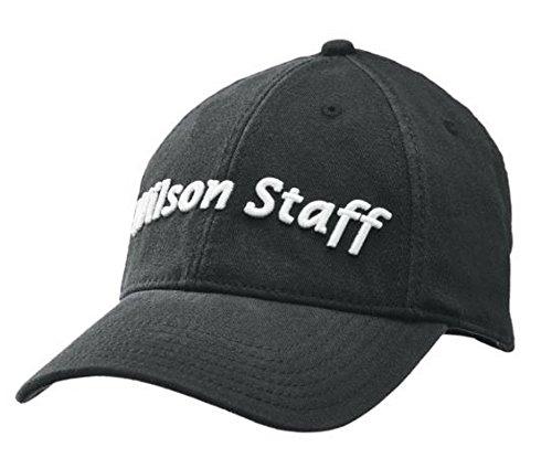 (Wilson Staff Relaxed Cap, Black)