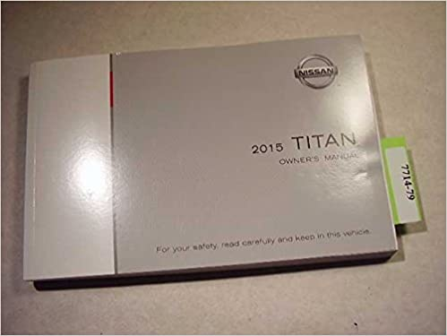 nissan owners manual 2015