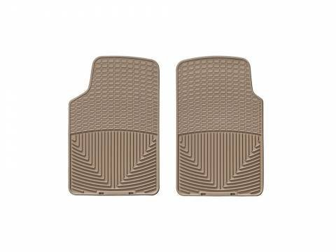 Weathertech-Macneil Automotive W3tn Frt Rubber Mats,Tan by WeatherTech
