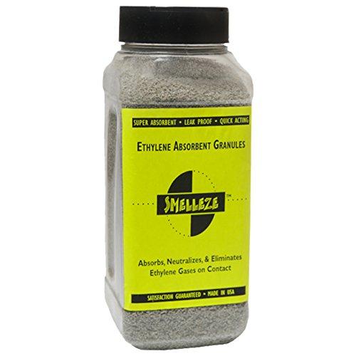 Absorbent Granules - SMELLEZE Natural Ethylene Gas Absorbent Eco Granules- 1 mm: 2 lb.