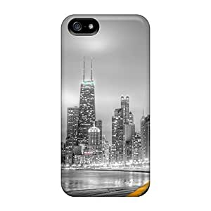 NadaAlarjane Iphone 5/5s Well-designed Hard Case Cover City Lights Protector