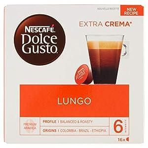 Nescafé Dolce Gusto Lungo – Café – 16 Capsules (1 boîte x 16)
