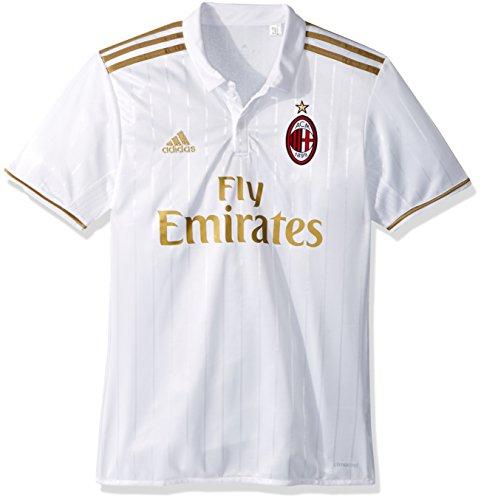 ba6d603ff42 adidas Men s AC Milan Away Replica Player Jersey