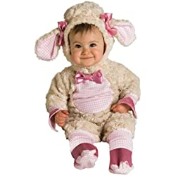 Rubies Lucky Lil Lamb Romper Halloween Costume (6-12 Months)