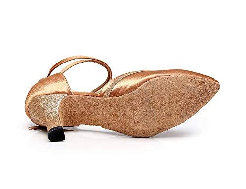 moderne Aiguille7 Jazz Sandales Talons Femme chaussures À uk3 De Salsa Yingsssq Chaussures Danse chacha samba tango 5cm Latine Pour Our35 HautsTalon 5Eu34 y8nmNwPv0O