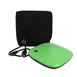 for Seagate External Wireless Mobile Portable HDD Hard Drive Storage HD 500GB Soft Nylon Carrying Travel Case Bag by co2CREA