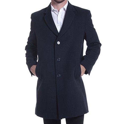 Three Button Wool Coat (alpine swiss Luke Mens 3 Button Tailored Wool 37