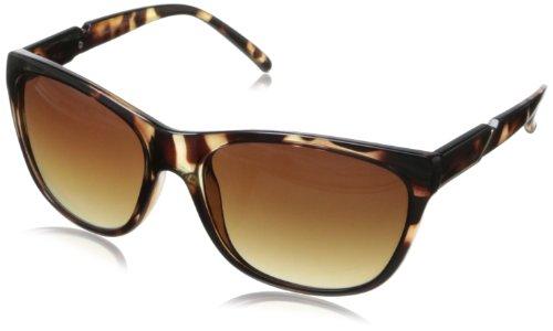 Calvin Klein Men's CWR655SL 206 Wayfarer Sunglasses, Dark Tortoise, 16 - Klein Calvin Sunglasses Polarized