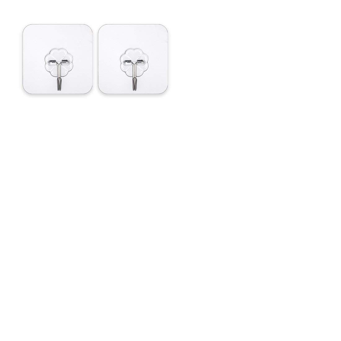 Out of Stock Self Adhesive Hooks Set of 10 Wall Hooks Reusable Kitchen Towel Bath