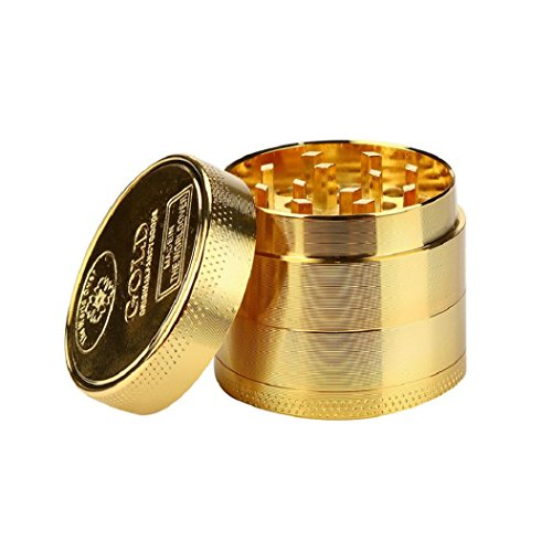 DBHAWK Tobacco Grinder Zinc Alloy Tobacco Herb Spice Grinder Herbal Smoke Crusher - Shop Watch Uk Review