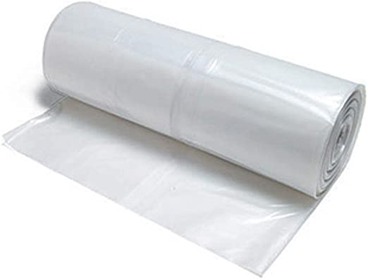 Greenhouse Polyethylene Covering Clear Plastic Film 40 Micron Thickness