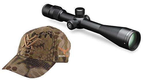 Vortex Optics Viper 6.5-20x50 PA Riflescope Mil Dot Reticle VPR-M-06MD bundled with IkonOps Baseball Hat by Vortex Optics