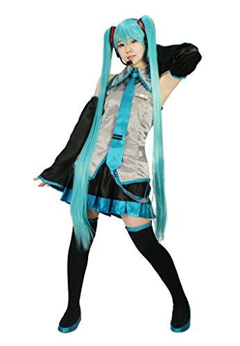 MILICA BOOKS Vocaloid Hatsune Miku Cosplay Costume (Small) -