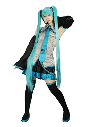 MILICA BOOKS Vocaloid Hatsune Miku Cosplay Costume Size S - Miku Hatsune Cosplay Costume