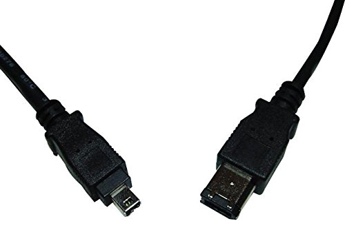 PS11262 - Computer Cable, IEEE 1394 Firewire 6 Position Plug, IEEE 1394 Firewire 4 Position Plug, 6.6 ft, 2 m, (Pack of 10) (PS11262)