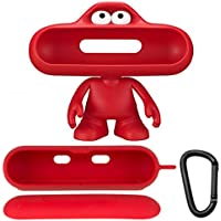 Beats by Dr. Dre Pill Dude 09985 | Pill Character Dock Mount Pill 2.0 Red MHE62G/A