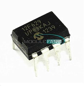 5PCS PIC12F629 12F629-I//P PIC12F629-I//P DIP-8 Microcontroller CHIP IC
