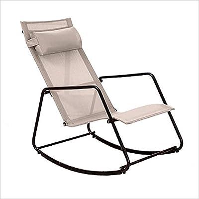 ZXWDIAN Sillón Sillón reclinable/Plegable Taburete/de ...