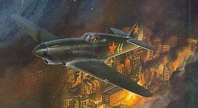 1/48 Yakovlev YAK-1 Soviet Airforce Fighter Lilia Litvyak Accurate Miniatures