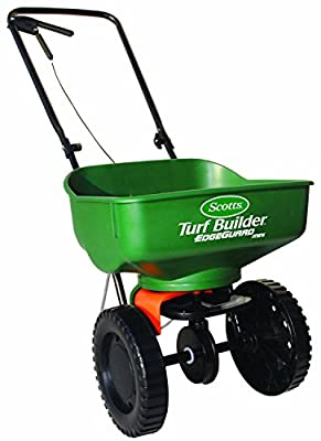 Scotts Turf Builder EdgeGuard Mini Broadcast Spreader Fertilizer Grass Seed