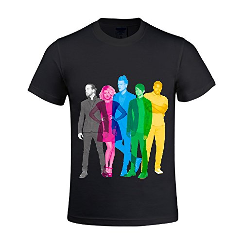 10 Most Popular Christmas Songs - Pentatonix Men T Shirts Crew Neck Printed Black