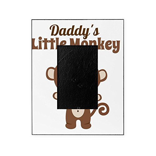 CafePress - Daddys Little Monkey - Decorative 8x10 Picture Frame ()