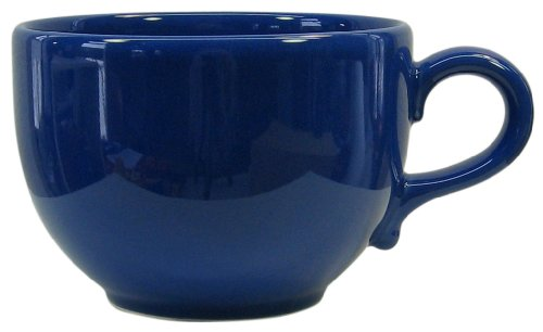 Waechtersbach Fun Factory II Royal Blue Jumbo Cups, Set of 4