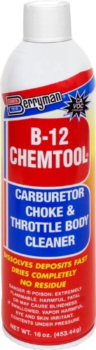 Berryman (0117C-12PK) B-12 Chemtool Carburetor/Choke and Throttle Body Cleaner - 16 oz, (Pack of 12)